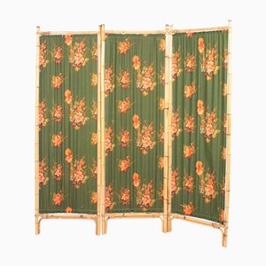 Mid-Century Swedish Bamboo Screen Room Divider, 1950s