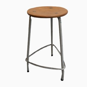 Vintage Industrial Stool, 1961
