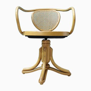 Swivel Chair by Michael Thonet for ZPM Radomsko, 1950s