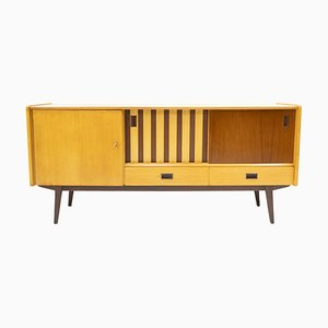 Dutch Beech Sideboard, 1950s