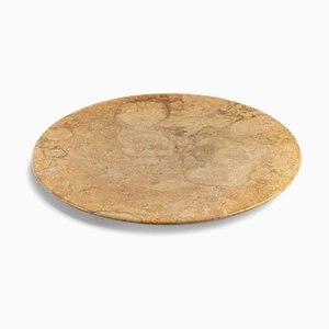 Bramante Giallo Reale Marble Tray by Stories of Italy