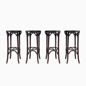 Antique Dining Chairs from Heywood Brothers & Wakefield Company Chigago, Set of 4