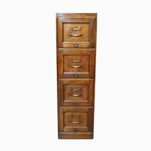 Oak Filing Cabinet, 1930s
