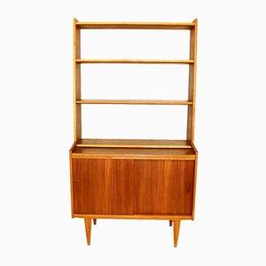 Swedish Oak and Teak Bookcase, 1960s