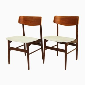 Danish Dining Chairs, 1960s, Set of 2