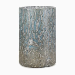 Cracklè Denim Tall Vase by Stories of Italy