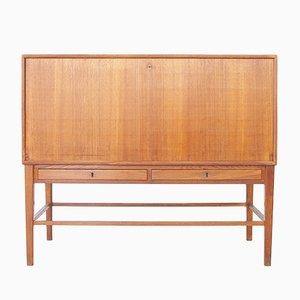 Danish Ash Wood Cabinet, 1930s