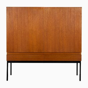Teak Highboard by Dieter Wäckerlin for Behr, 1960s