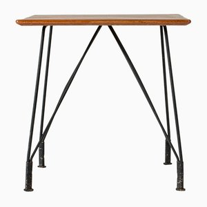 Tavolini Mid-Century in teak di Hans-Agne Jakobsson per Hans-Agne Jakobsson, Svezia, set di 2