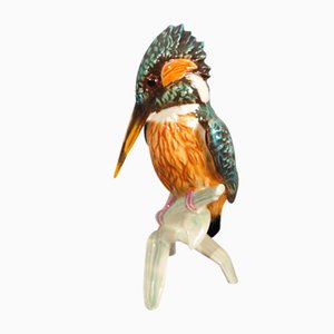 Porcelain Figurine Kingfisher by Göbel, 1970s