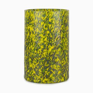 Macchia Su Macchia Green & Yellow Tall Vase by Stories of Italy