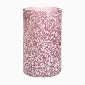 Macchia Su Macchia Ivory & Amethyst Extra Tall Vase by Stories of Italy