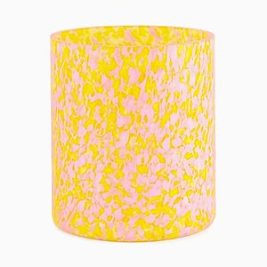 Macchia Su Macchia Yellow & Pink Medium Vase by Stories of Italy