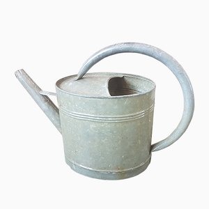 Vintage Zinc Watering Can, 1940s