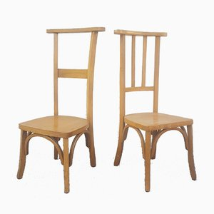 Mid-Century Valet Chairs, Set of 2
