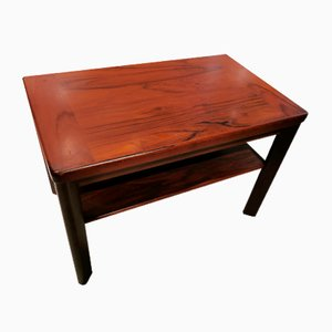 Table Basse Mid-Century en Palissandre ou Auxiliaire