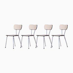 Mid-Century Chrome Umakart Dining Chairs, 1960s, Set of 4