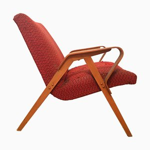 Rote Sessel von František Jirák für Tatra, 1960er, 2er Set