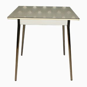 Mid-Century Formica and Chrome Dining Table, 1950s