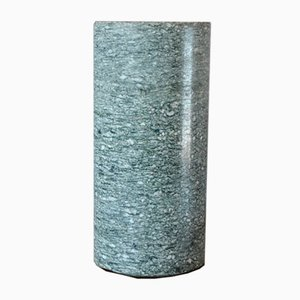 Vintage Brutalist Granite Vase