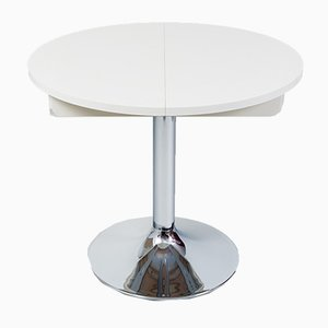 Bauhaus Chrome Extendable Table from Kovona, 1970s