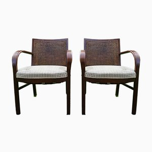 Vintage Dan Armchairs by Søren Hansen for Fritz Hansen, Set of 2