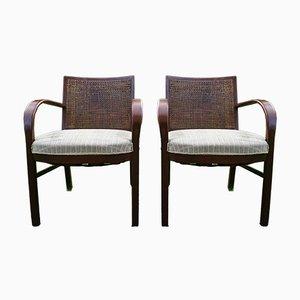 Vintage Dan Armchairs by Søren Hansen for Fritz Hansen, Set of 2