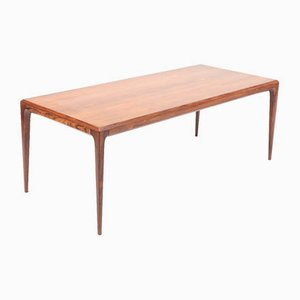 Mid-Century Rosewood Coffee Table by Johannes Andersen for CFC Silkeborg, 1960s