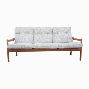 Sofá de tres plazas escandinavo de Walter Knoll / Wilhelm Knoll, años 60
