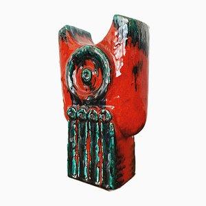 Brutalist Ceramic Vase, 1960s