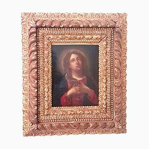 18th Century Madonna Addolorata Painting