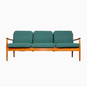 Dänisches Teak 3-Sitzer Modell 118 Sofa von Grete Jalk für France & Søn / France & Daverkosen, 1960er