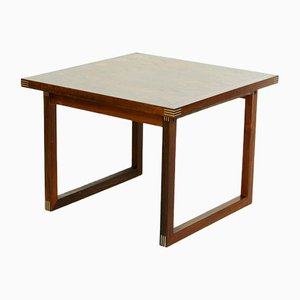 Danish Rosewood Coffee Table by Rud Thygesen for Heltborg Møbler, 1960s
