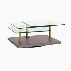 Glass Gray Model K505 Coffee Table from Ronald Schmitt