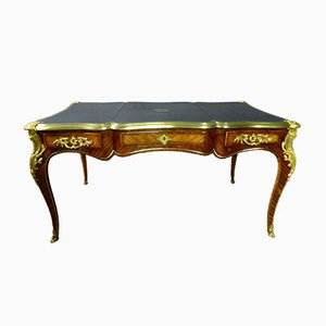 Louis XV Rosewood Curved Desk