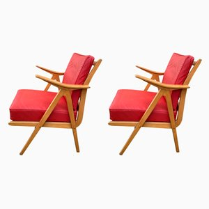 DLG Chairs by Robin Kay, 1950s, Set of 2