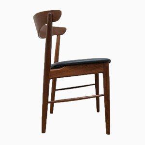 Mid-Century Danish Teak Dining Chairs, 1950s, Set of 6