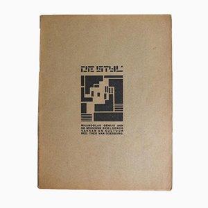 Wichtiger De Stijl Magazineinband von Vilmos Huszar, 1919