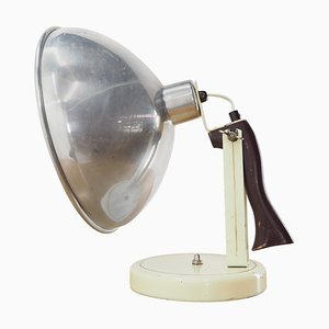 Mid-Century Industrial Table or Hand Lamp, Czechoslovakia, 1960s