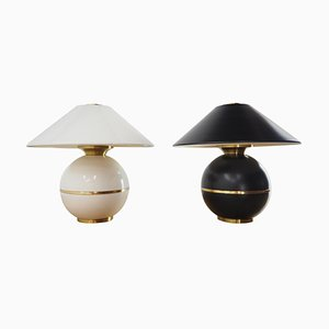 Mid-Century Table Lamps from Napako, Czechoslovakia, 1960s, Set of 2