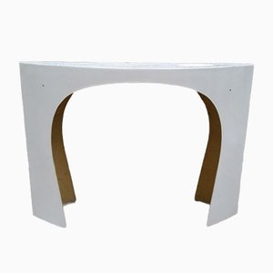 Table Console Blanche par Charlotte Perriand, 1960s