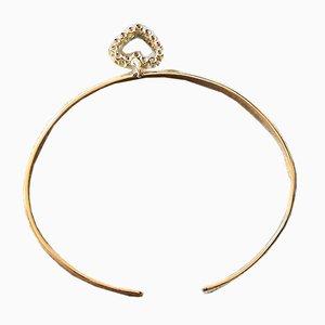 Bracelet Ovale avec Charme, 1990s