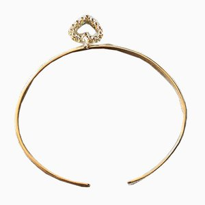 Oval Bangle with Charm, 1990s