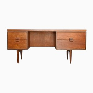 Mid-Century Danish Teak Desk by Ib Kofod Larsen for G-Plan, 1960s