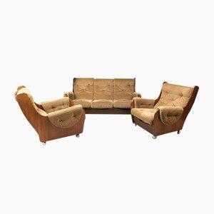 Mid-Century Sofa und Sessel Set von G plan, 1960er