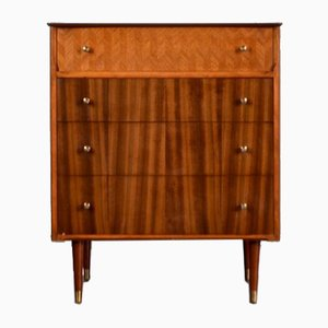 Brass and Teak Dresser from Uniflex, 1960s