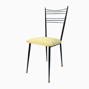 French Side Chairs by Colette Gueden for Primavera, 1950s, Set of 8