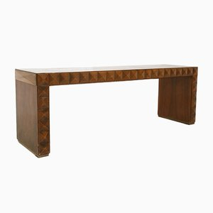 Vintage Italian Walnut Bench by Paolo Buffa, 1940s