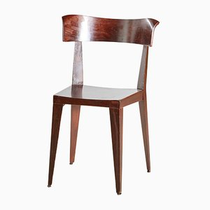 Vintage Beech Dining Chairs by Marco Maran for Plank, 1960s, Set of 2