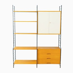 Ash Veneer Wall Unit from WHB, 1960s